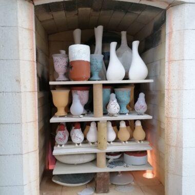 The gas kiln